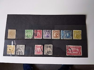 Early Philippines - Small Selection of Used Stamps Issued Between 1880 and 1932