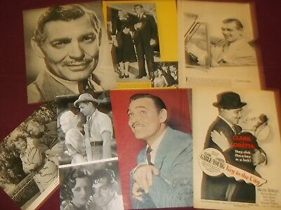 Clark Gable - Clippings  (Lot A)