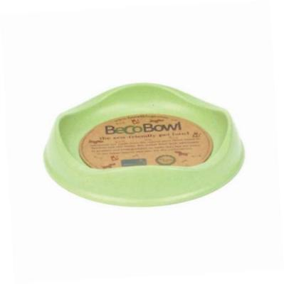 Beco Cat Bowl - Eco Friendly Bamboo Food and Water Bowl - Green
