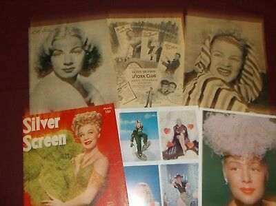 Betty Hutton - Clippings