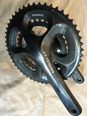 shimano Ultegra Compact Chainset  50/34 172.5mm Crank Carbon Chainring.