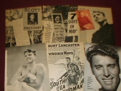 Burt Lancaster - Clippings