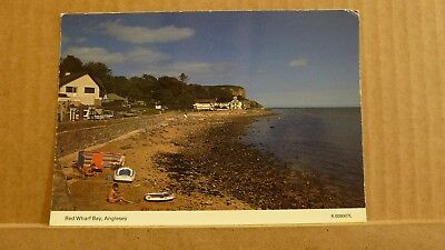 Postcard unposted Anglesey, Red wharf bay