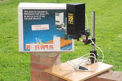 AICO 35SL Black and White Darkroom Enlarger for 35mm - Ideal starter / student