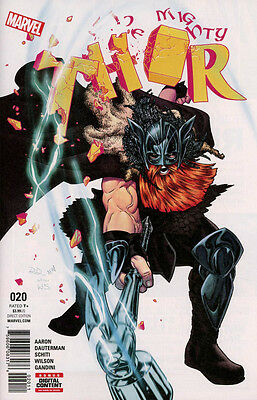 The Mighty Thor #20 (2017) 1St Print - (Marvel Comics) Boarded. Free Uk P+P