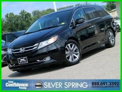 2014 Honda Odyssey Touring 2014 Touring Used 3.5L V6 24V Automatic FWD Moonroof