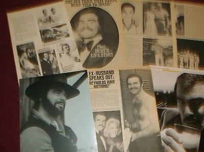 Burt Reynolds - Clippings  (Lot C)