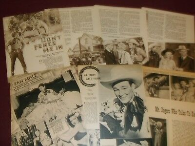 Roy Rogers - Clippings  (Lot A)