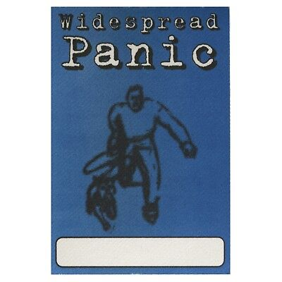 Widespread Panic authentic 1997 Bombs & Butterflies Tour satin Backstage Pass