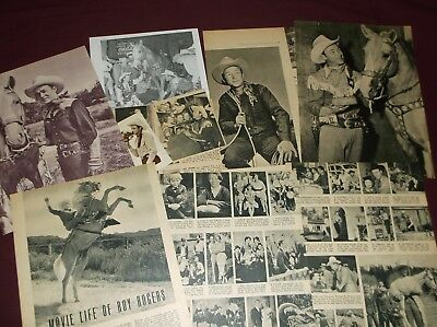 Roy Rogers - Clippings  (Lot B)