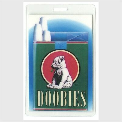 Doobie Brothers authentic 1990's concert tour Laminated Backstage Pass Rare htf