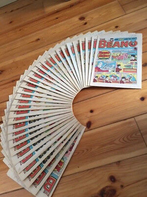 Beano comics mainly from the 1980's