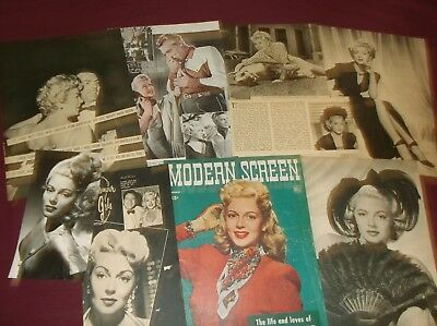 Lana Turner - Clippings  (Lot B)