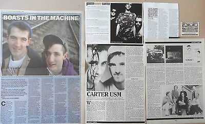 CARTER USM : CUTTINGS COLLECTION -interviews-