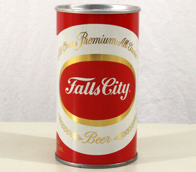 FALLS CITY EARY RING PULL TAB BEER CAN LOUISVILLE, KENTUCKY KY ALL GRAIN 1960's+