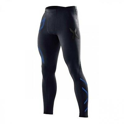 Mens High Elastic Compression Pants Running Gym Cycling Fitness Tights
