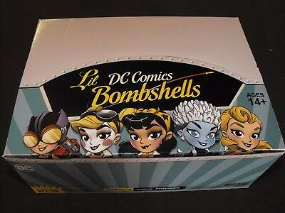 Lil DC COMICS BOMBSHELLS SERIES 2 CASE 12 VINYL FIGURE NEW UNOPENED CRYPTOZOIC