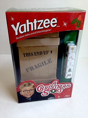 A Christmas Story YAHTZEE Collector's Edition Game, NEW in BOX