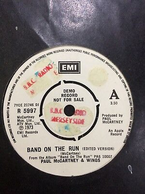 "PAUL McCARTNEY DJ ONLY EDITED VERSION 1973 DEMO:""BAND ON THE RUN""+FULL VERSION!"