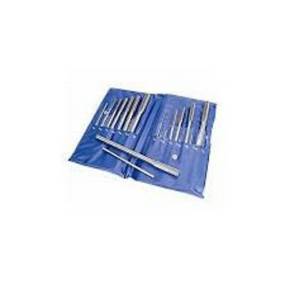 Chucking Reamers   14 Piece Set In Pouch  Inch Sizes