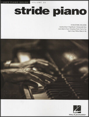 Jazz Piano Solos Volume 35 Stride Piano Sheet Music Book