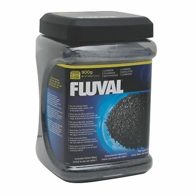 Fluval Activated Filter Carbon 900g Jar Free Filter Bag Aquarium Media