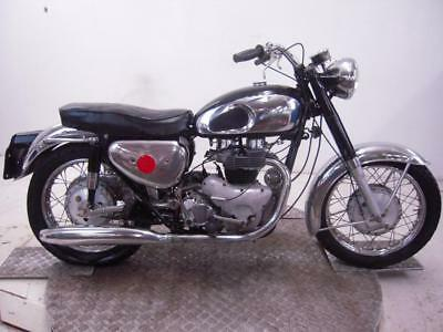 1964 Matchless G12 650 Unregistered US Import Barn Find Classic Restoration Proj