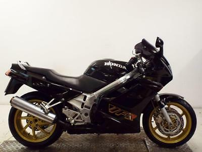 Honda Vfr750F-M.gleaming Black-Original-Part Ex To Clear No Reserve-Hard To Find