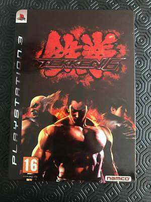 Tekken 6 Playstation 3 *STEELBOOK CASE ONLY*