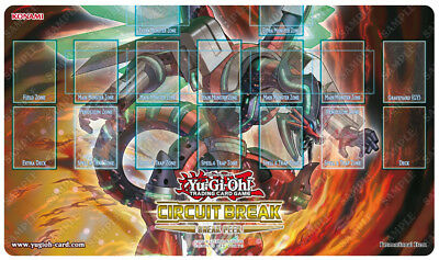 Yugioh Circuit Break Cibr Limited Edition Promo Sneak Peek Playmat