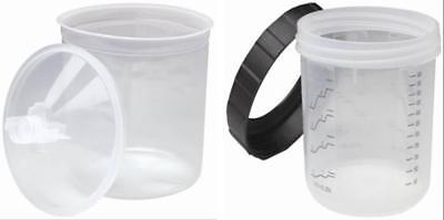 3M-16000/16001 Pps Standards Size Startup Kit 1 Hard Cup With 15 Liners & Lids