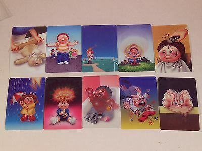 GARBAGE PAIL KIDS - 2012 BRAND NEW SERIES 1 Complete MOTION SET – 10 CARDS BNS1