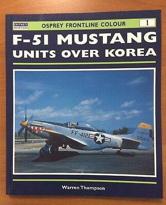 Aviation book Osprey F-51 Mustang units over Korea