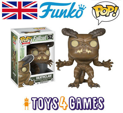 """Funko Pop Games Fallout Deathclaw Vinyl Action Figure Collectible Toy 52 3.75"""""""