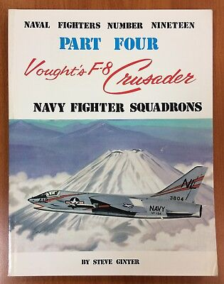 "Aviation book ""Vought's F8 Crusader part 4 Navy fighter squadrons"""