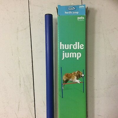 Dog Hurdle Jump Outdoor Agility Exercise Equipment Obedience Show Training