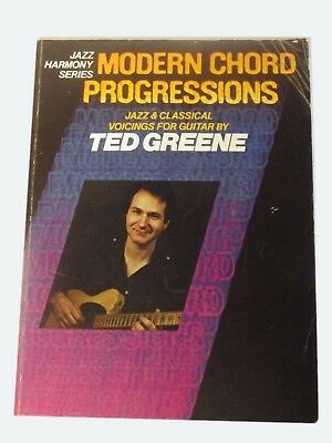 Modern Chord Progressions By Ted Greene - Jazz Voicings For Guitar (RFBK)