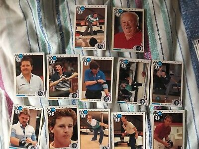 1990 Kingpins PBA 12 cards bowling
