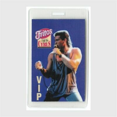Billy Ray Cyrus authentic 1993 concert tour Laminated Backstage Pass Fritos VIP