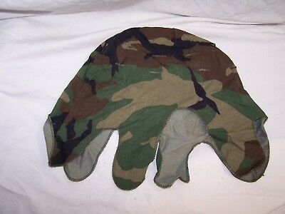 US Woodland M1 helmet cover 1984, used excellent condition.