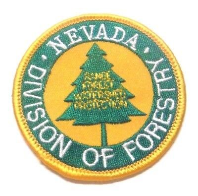 """Nevada Division Of Forestry 3"""" Patch Unused"""