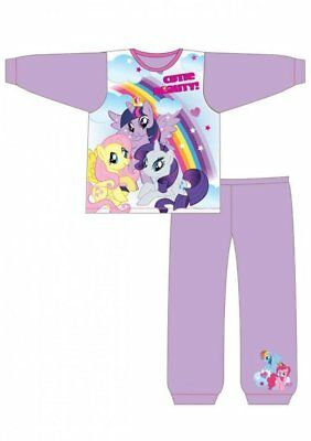 Girls My Little Pony 'Cutie Beauty' Sublimation Pyjamas 18-24 months to 4-5 year