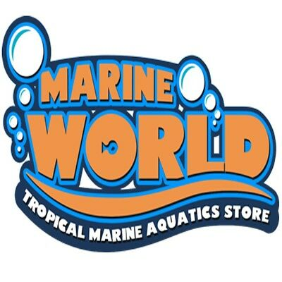 Marine World Aquatics 5% Discount Business Card on livestock Corals - Fish