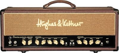 HUGHES AND KETTNER 50W STATESMAN DUAL EL34 VALVE AMP HEAD with COVER