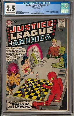 Justice League of America #1 CGC 2.5 (OW-W) *1418188007*
