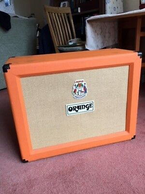 ORANGE PPC212 2x12 OPEN BACK GUITAR EXTENSION SPEAKER CABINET