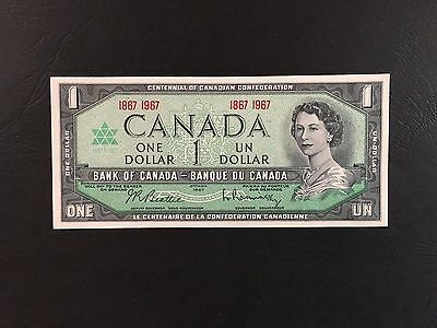 Billet 1 Dollars Canada 1867-1967 Billets Collection TBE +