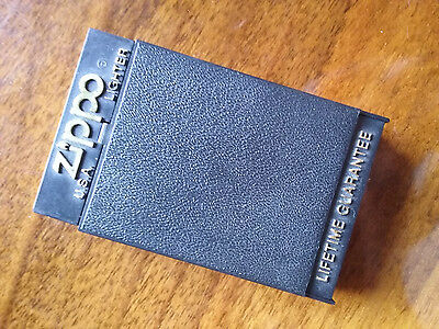 Zippo solid brass lighter with box