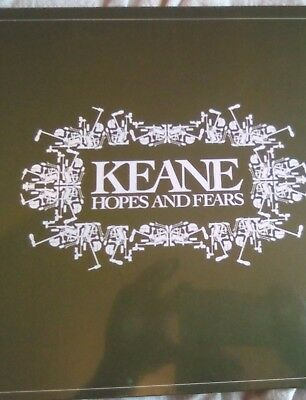 Keane – Hopes And Fears - LP - NEW/SEALED