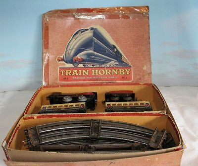 Hornby French M1 Train Set Boxed Rare O Gauge